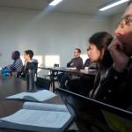 На лекції